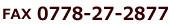FAX 0778-27-2877