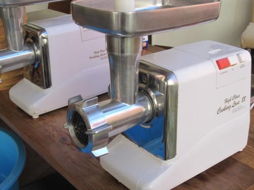 手作りみそを大量に仕込む時には『豆ミンサー』がおすすめ