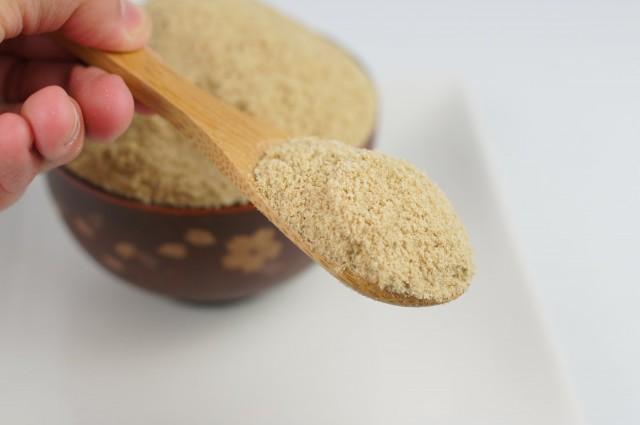 有機米からとれた米ぬか