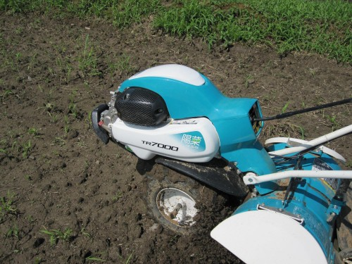 クボタのミニ耕運機 その名も『陽菜』