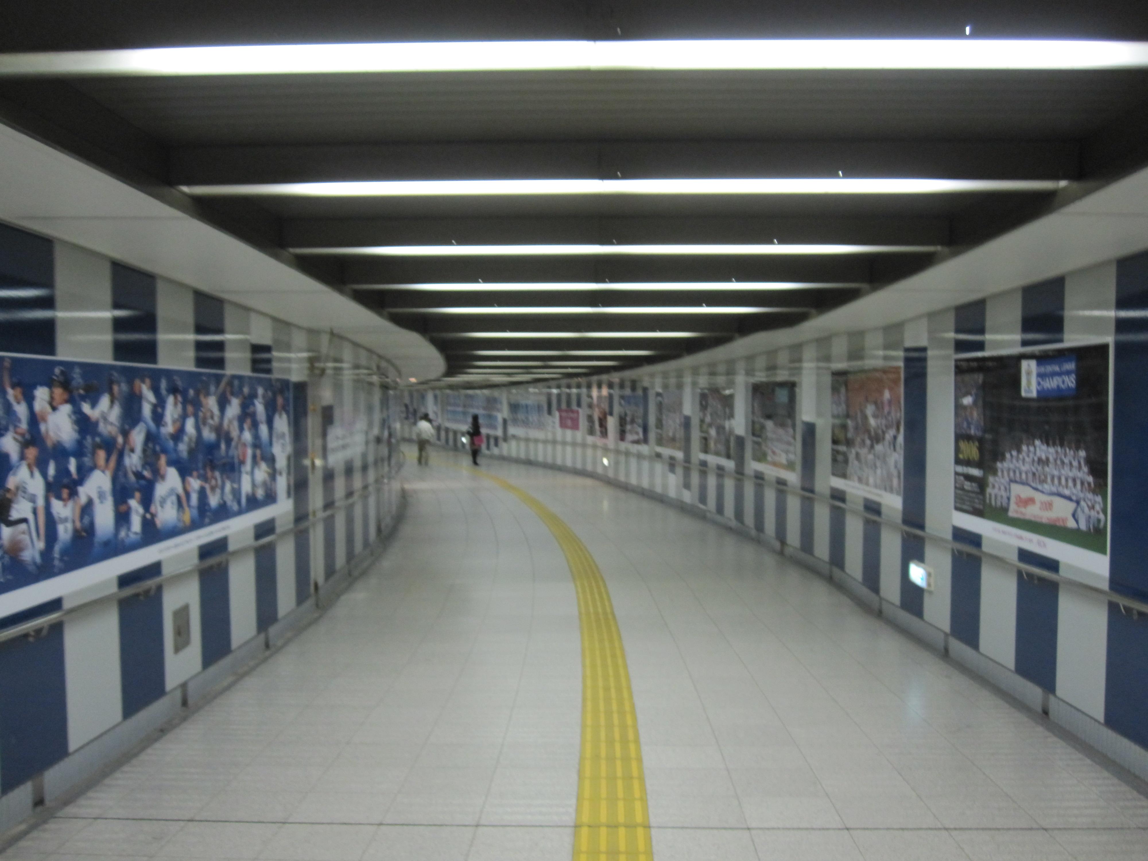 名古屋ドーム前のドラゴンズロード