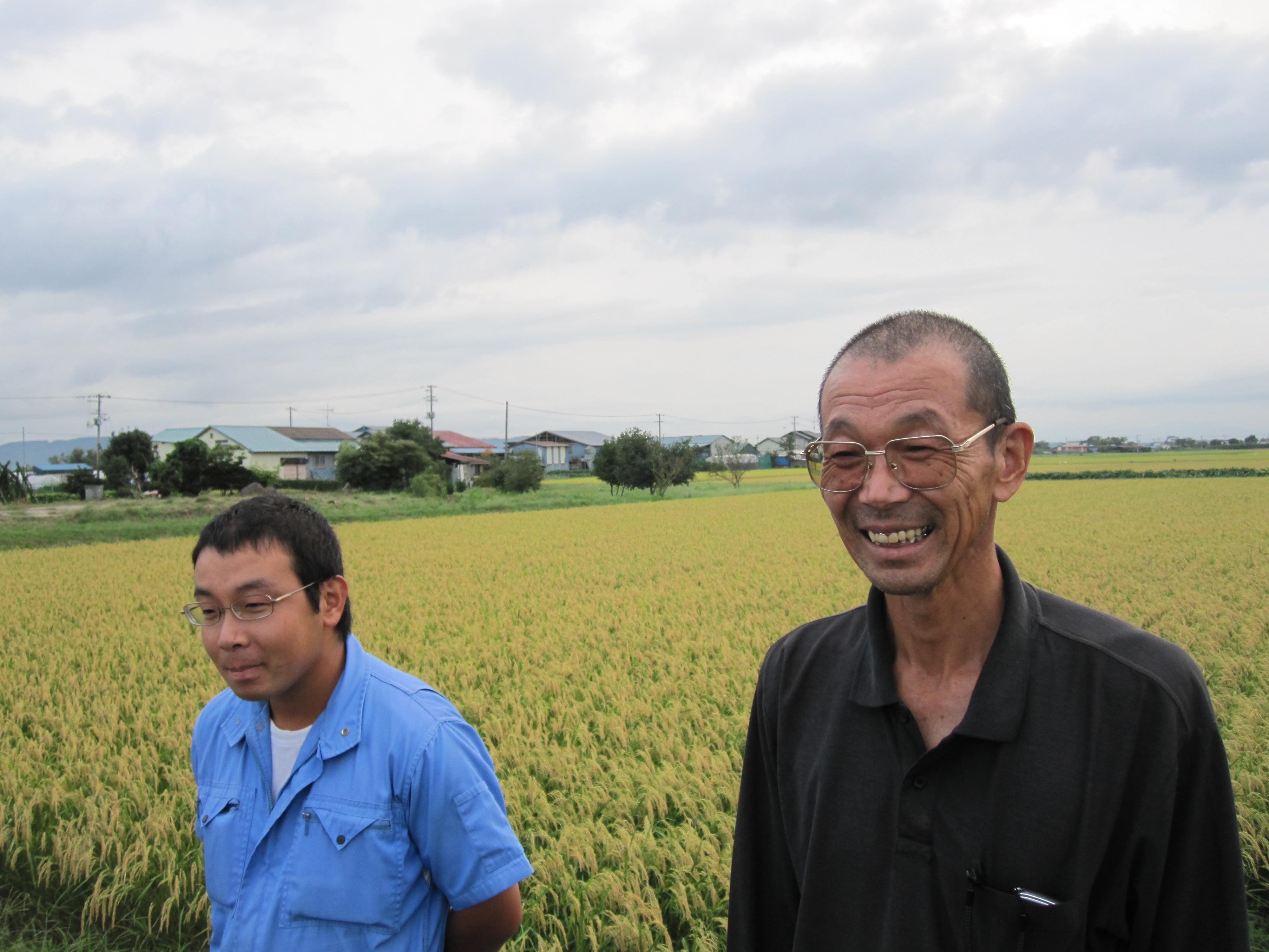 成澤農園の成澤親子