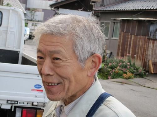 大阪の桶職人上芝氏