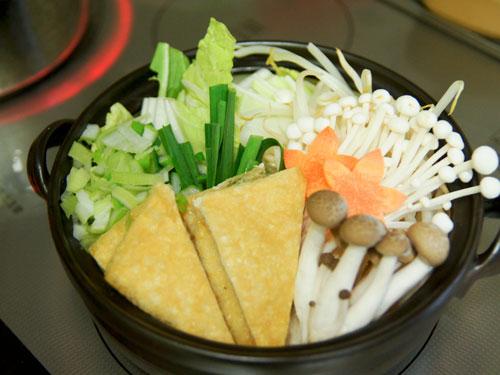 味噌鍋の具材