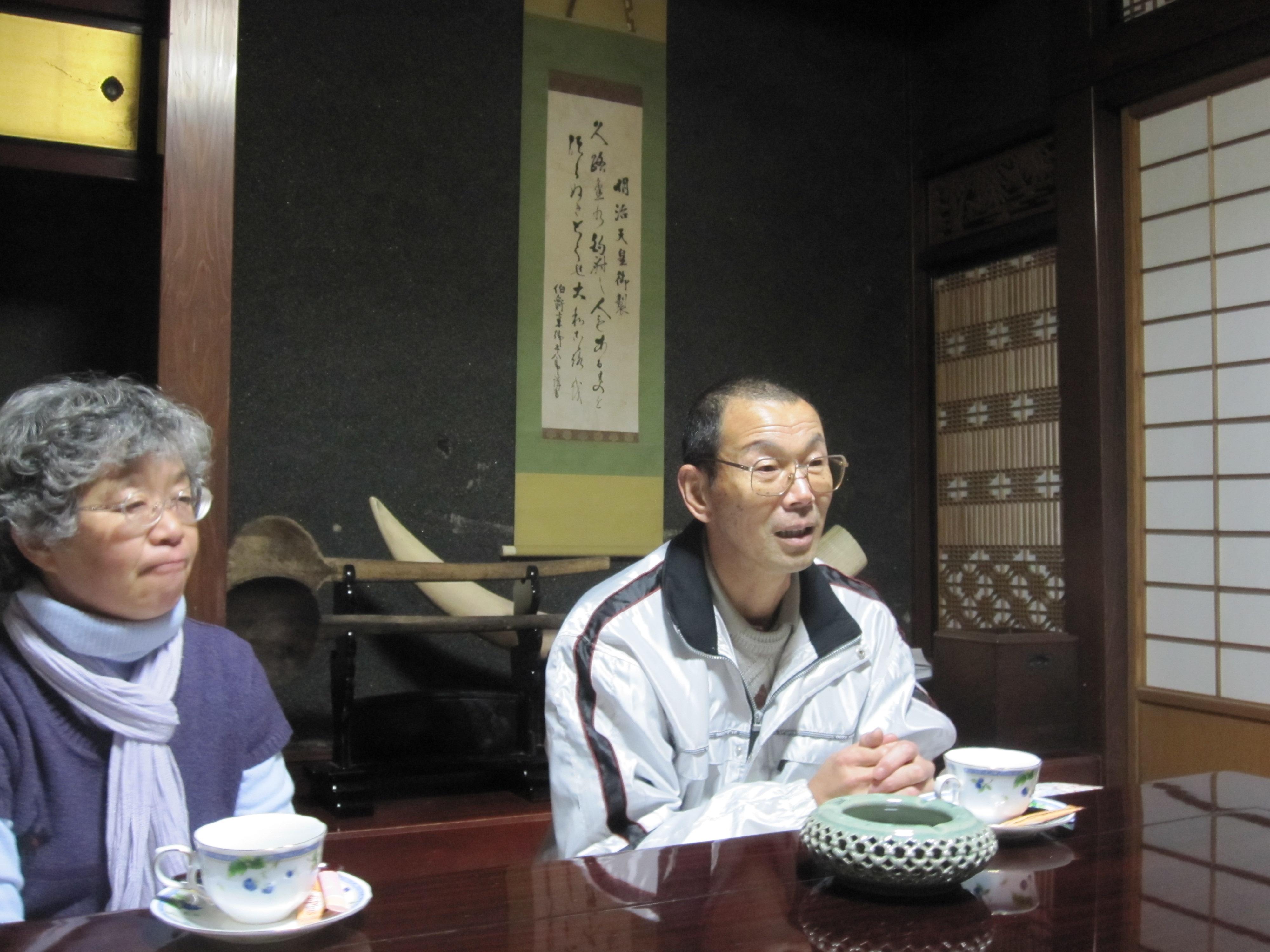 宮城県で自然栽培をされている成澤農園ご夫妻
