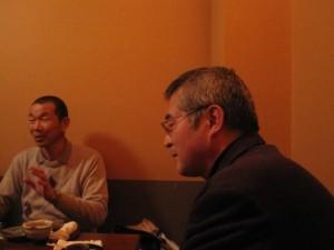 成澤之男(なりさわゆきお)さんとマルカワみその社長河崎宏