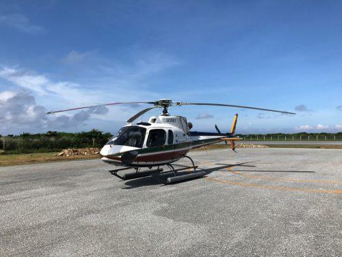 粟國島からヘリタクシーで沖縄に帰った時に感じた人間と自然界。