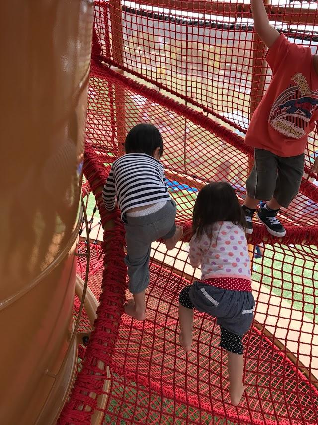 三河みりんの三角さんご家族と武生の中央公園へ