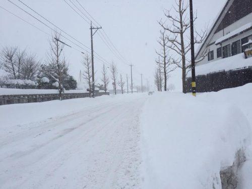 平成30年に起きた福井豪雪で感じたこと。その2『インフラの重要性』