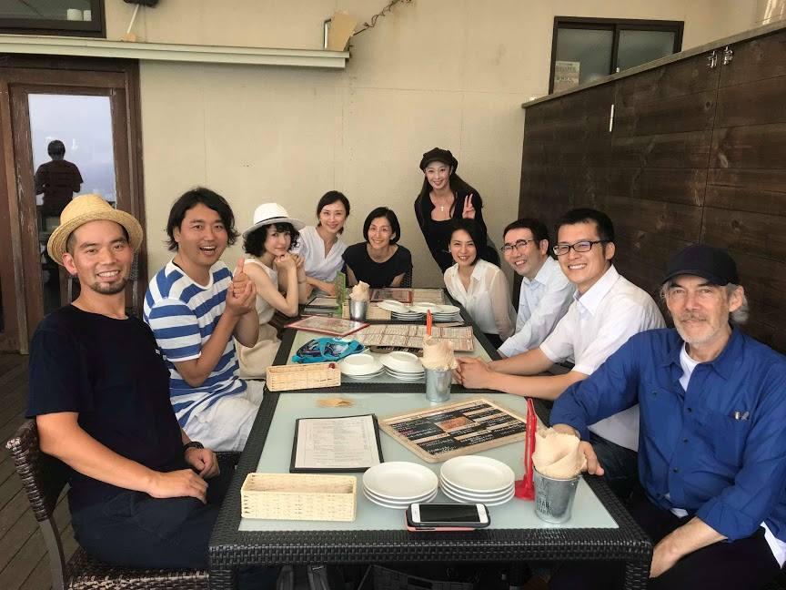 江ノ島にある武田双雲さんのアトリエとオーガニックカフェにお伺いしました。