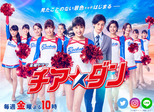実存する福井商業高校のチアダンス部がモデルになった映画やドラマがあります。その名も『チアダン』
